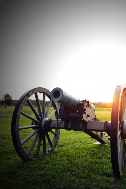 Cannon at Stones River National Battlefield